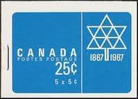 Canada 1967 Canadian Booklet SB 60 Fine Mint