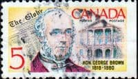 Canada 1968 George Brown SG 626 Fine Used