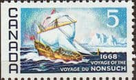 Canada 1968 Voyage of the Nonsuch SG 624 Fine Mint