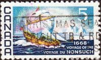 Canada 1968 Voyage of the Nonsuch SG 624 Fine Used