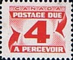Canada 1969 - 78 Postage Due D 35 Fine Mint