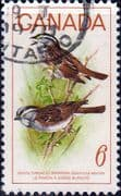 Canada 1969 Birds White-throated Sparrow SG 638 Fine Used