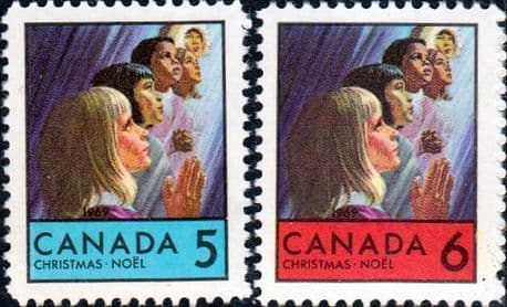 Canada 1969  Christmas Set Fine Mint