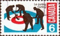 Canada 1969 Curling SG 632 Fine Used