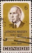 Canada 1969 Vincent Massey SG 633 Fine Used