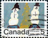 Canada 1970  Christmas. Children's Drawings SG 663 Fine Used