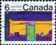 Canada 1970  Christmas. Children's Drawings SG 668 Fine Used