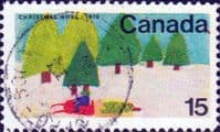 Canada 1970  Christmas. Children's Drawings SG 672 Fine Used