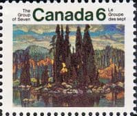 Canada 1970 Group of Seven Artists SG 660 Fine Mint