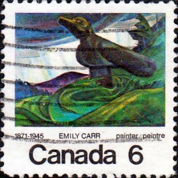 Canada 1971 Centenary of Emily Carr SG 674 Fine Used