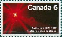 Canada 1971 Lord Rutherford SG 676 Fine Mint
