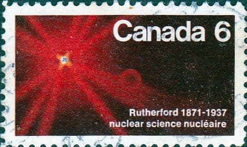 Canada 1971 Lord Rutherford SG 676 Fine Used