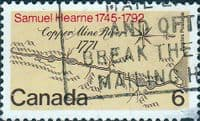 Canada 1971 Samuel Hearne's Expedition SG 682 Fine Used