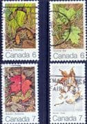 Canada 1971 The Maple Leaf in Four Seasons Set Fine Used