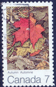Canada 1971 The Maple Leaf in Four Seasons SG 679 Fine Used