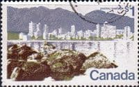 Canada 1972 Vancouver SG 709a Fine Used