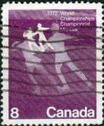 Canada 1972 World Figure Skating Championships SG 692 Fine Used
