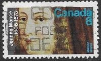 Canada 1973 Death Anniversary of Jeanne Mance SG 754  Fine Used