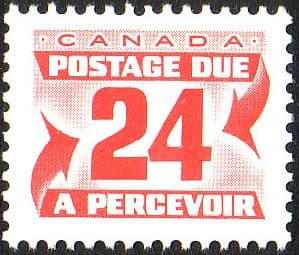 Canada 1977 Postage Due D43 Fine Mint