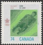 Canada 1988 Winter Olympic Games SG 1284 Fine Used