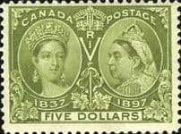 Canada Early Issues Queen Victoria - King George V