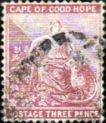 Cape of Good Hope 1880 SG 36 Hope Seated Fine Used