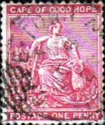 Cape of Good Hope 1882 SG 41 Hope Seated Fine Used