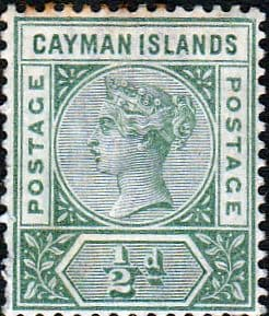 Stamps of Cayman Islands 1907 Edward VII SG 17 Fine Mint Scott 17