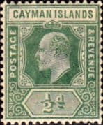 Cayman Islands 1902 Edward VII SG 3 Fine Mint