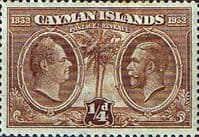 Cayman Islands 1932 Assembly of Justices and Vestry SG 84 Fine Mint