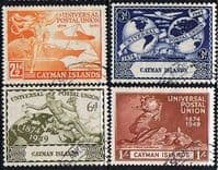 Cayman Islands 1949 Universal Postal Union Set Fine Used