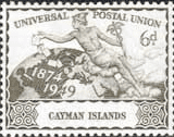 Cayman Islands 1949 UPU SG 133 Fine Mint