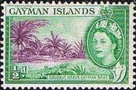 Cayman Islands 1953 SG 149 Coconut Grove Fine Mint