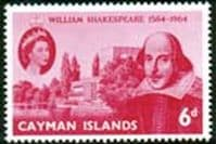 Cayman Islands 1964 William Shakespeare Fine Mint