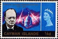 Cayman Islands 1966 Churchill SG 188 Fine Mint