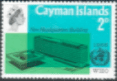 Cayman Islands 1966 World Health Organisation SG 196 Fine Mint