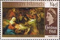 Cayman Islands 1968 SG 215 Christmas Fine Mint