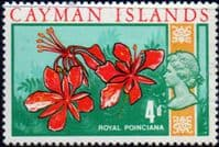 Cayman Islands 1969 SG 227 Royal Poinciana Fine Mint