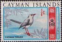 Cayman Islands 1970 SG 273 Decimal Bird Thrush Fine Mint