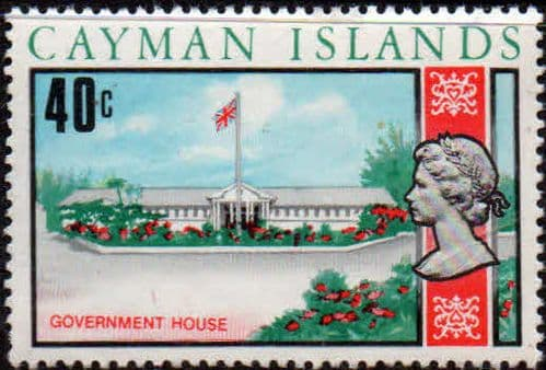 Cayman Islands 1970 SG 285 Government House Fine Mint