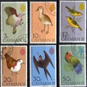 Cayman Islands 1975 Birds Set Fine Used