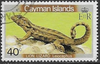 Cayman Islands 1981 Reptiles and Amphibians SG 532 Fine Used