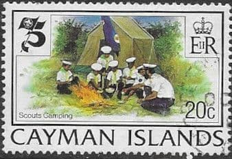 Cayman Islands 1982 Boy Scout Movement SG 554 Fine Used