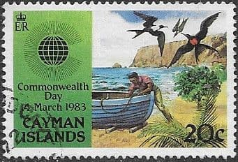 Cayman Islands 1984 Commonwealth Day SG 576 Fine Used