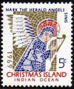 Christmas Island 1969 Hark the Herald Angels Fine Mint