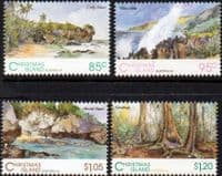Christmas Island 1993 Scenic Views Set Fine Mint