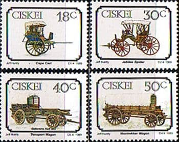 Ciskei 1989 Early Transport Set Fine Mint