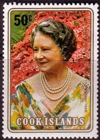 Cook Islands 1980 Mothers 80th Birthday Fine Mint