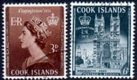Cook Islands Queen Elizabeth II 1953 Coronation Set Fine Used