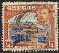 Cyprus 1938 SG 151 Ruins of Vouni Palace Fine Used